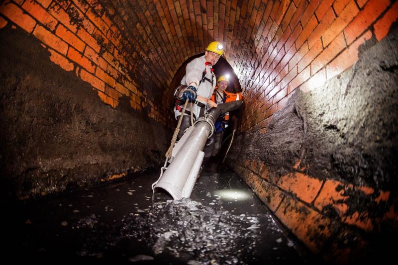 Sommerreportage: Mit Andreas Haupt in den Frankfurter Untergrund