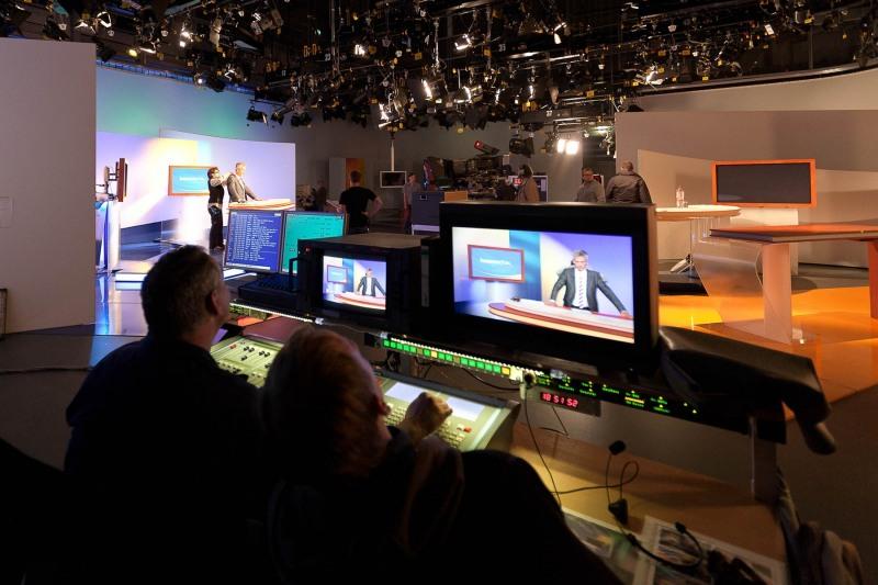 Fernsehstudio des HR