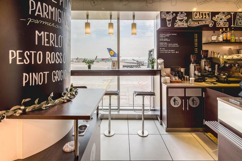 Italissimo ++++ Flugsteig A-Bestand +++ Fraport - Einzelhandelsverkaufsflächen im Terminal 1 +++ www.chrischristes.de