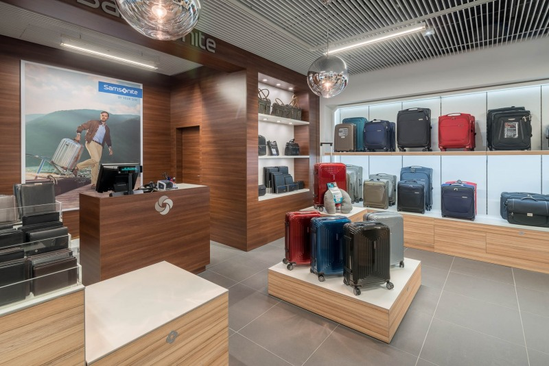 Samsonite-Shop im Terminal 1 / Shopping Boulevard