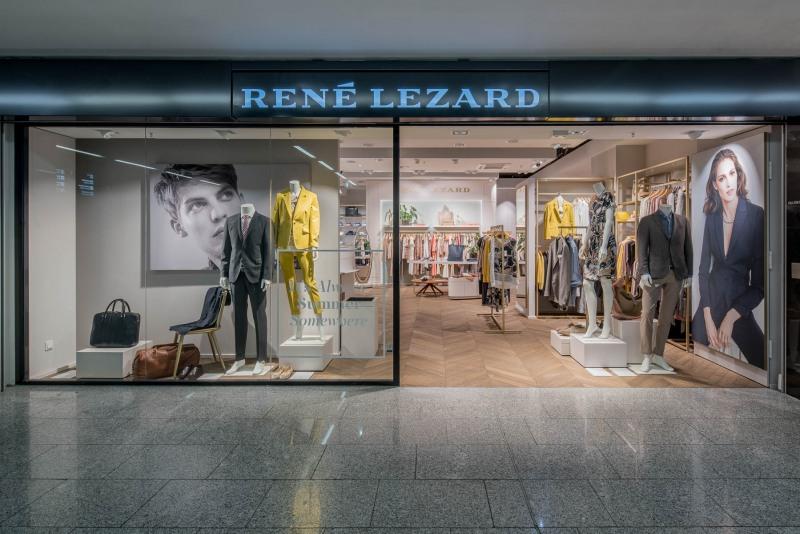 René Lezard - Fraport Shopping Boulevard - Aufgenommen von Christian Christes im Terminal 1, Frankfurt am Main, Flufghafen