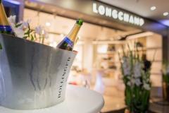 Eröffnung des neuen Longchamp Store am Frankfurter Flughafen +++ Aufgenommen im Fraport Terminal1 B-Transit von Christian Christes im September 2019 / Frankfurt am Main