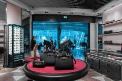 GUCCI  im Fraport Terminal 1Z Atrium +++ Aufgenommen von Christian Christes im Mai 2019  Terminal 1Z Atrium +++ Aufgenommen von Christian Christes im Mai 2019, Flughafen Frankfurt am Main